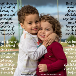 Children trust and follow Parents