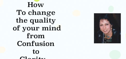 How to change the mind from confusion to clarity