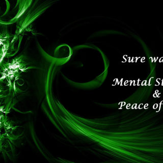 Sure way for mental strength and peace