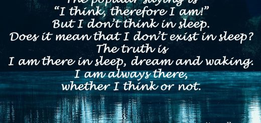I am always there