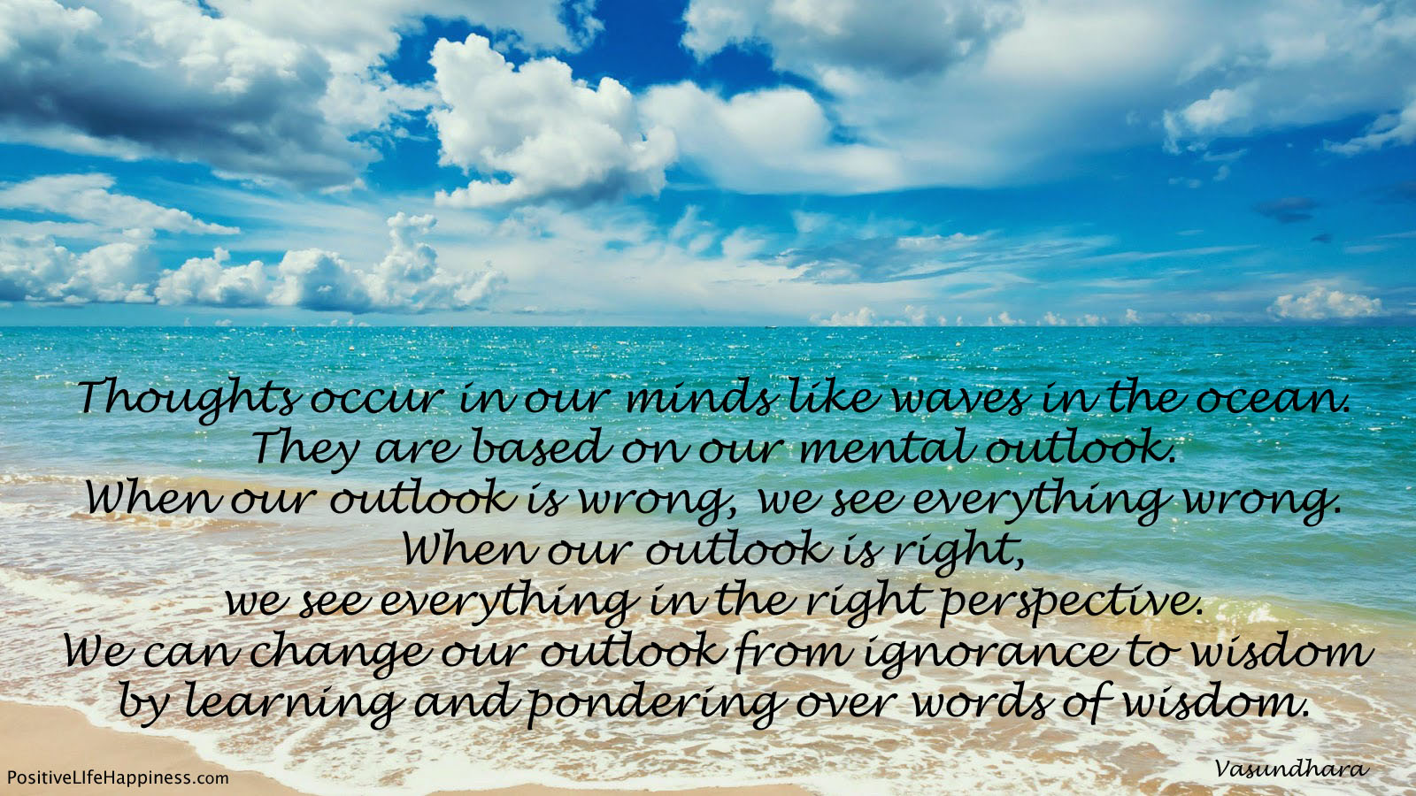 Mental outlook is everything
