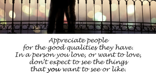 See in people the good they have